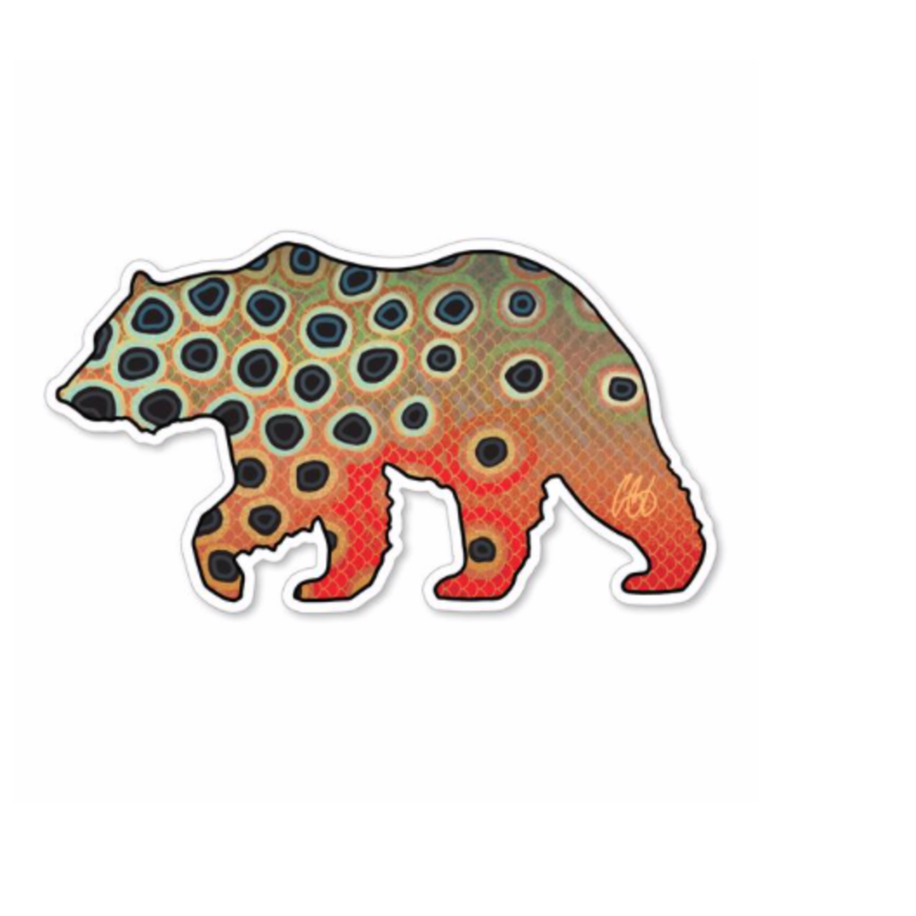Underwood Bear Cutty Sticker