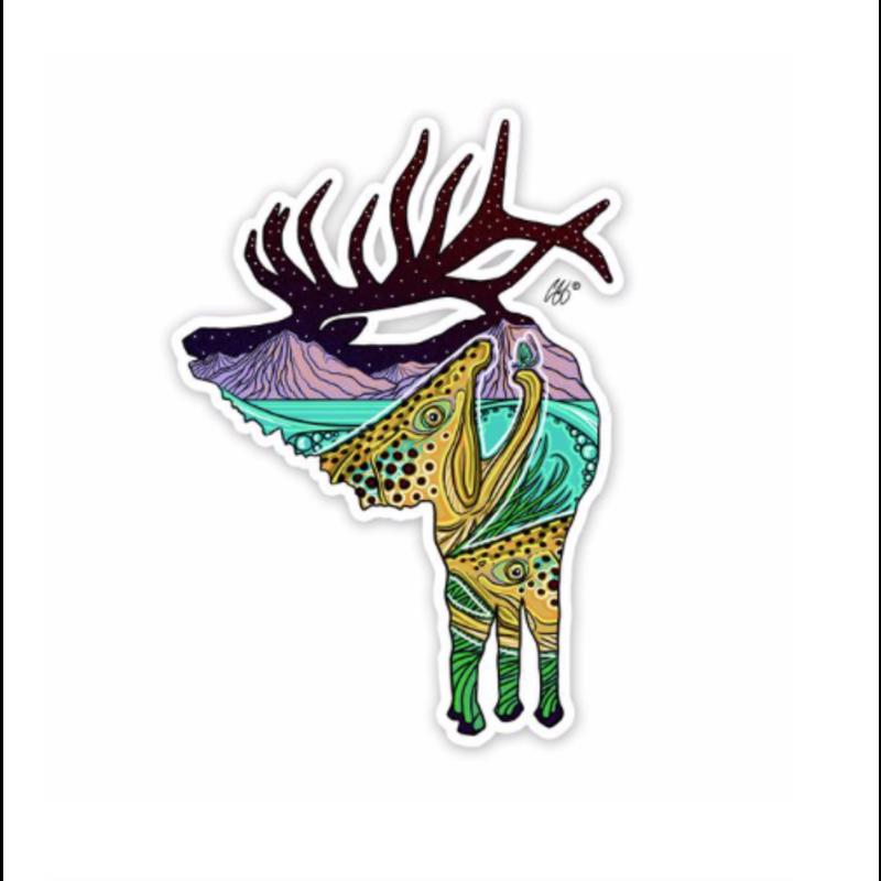 Underwood River Rut Sticker