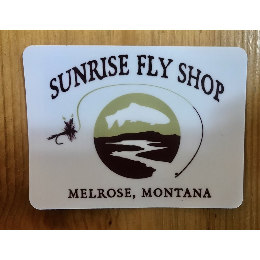 Sunrise Original Logo Sticker