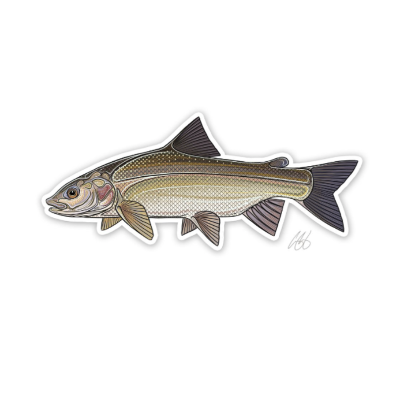 Casey Underwood Underwood Whitefish Sticker