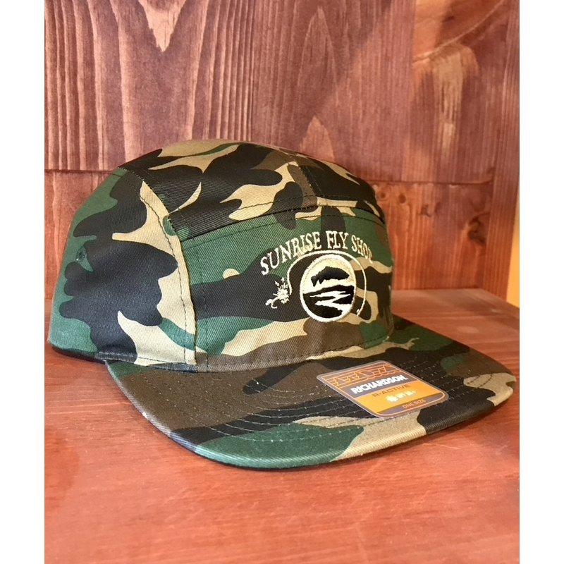 Richardson Sunrise Logo Hat | Macleay | Light Navy, Green Camo