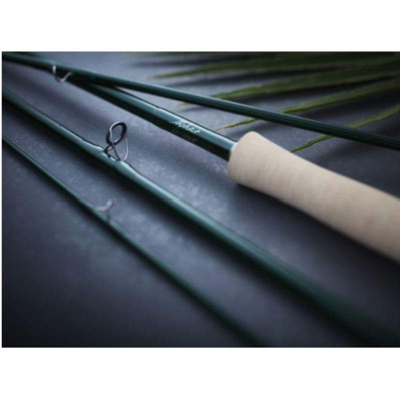 Winston Rods Winston Alpha Plus Fly Rod | 9' 5 Weight | 905-4 | Cigar W/ Figured Maple