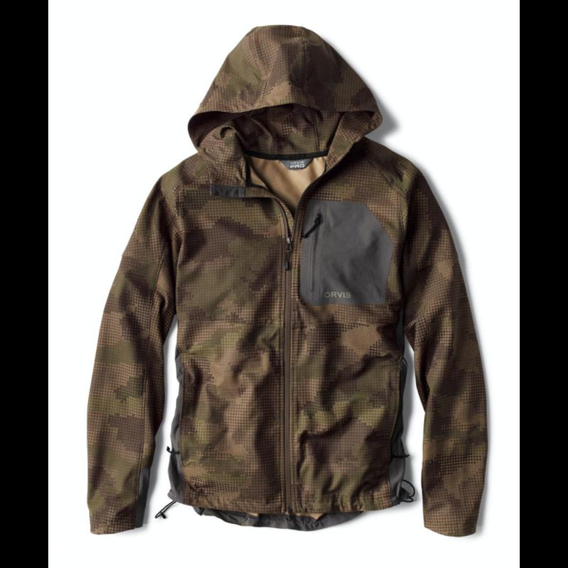 Orvis Pro LT Softshell Hoodie Jacket | Camo