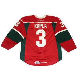 Kapla #3 Signed Red Jersey