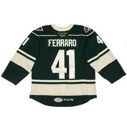 Ferraro #41 Green Signed Jersey