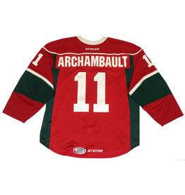 Archambault #11 Red Jersey