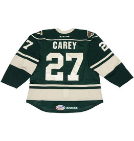 Carey #27 Green Jersey
