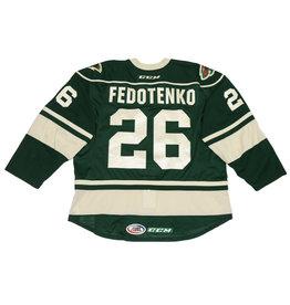 Fedotenko #26 Green Jersey