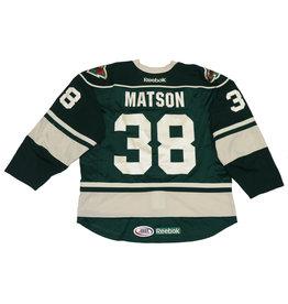 Matson #38 Green Jersey