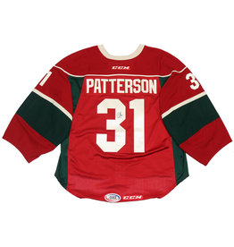 Patterson #31 Red Signed Jersey