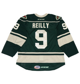 Reilly #9 Green Signed Jersey