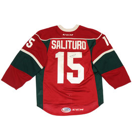Salituro #15 Red Signed Jersey
