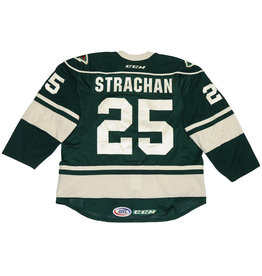 Strachan #25 Green Jersey