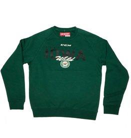 """CCM """"Property of Iowa Wild"""" Crew Sweater"""