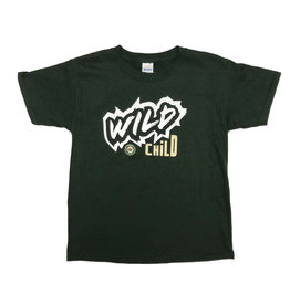 Youth Green Wild Child T-Shirt