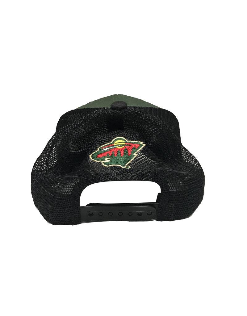 Belt Snapback Mesh Hat
