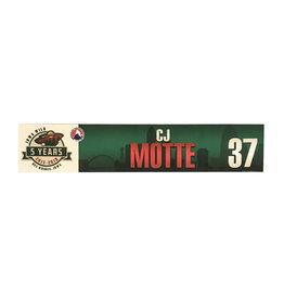 17-18 #37 Motte Nameplate