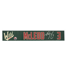 19-20 McLeod Training Camp Nameplate