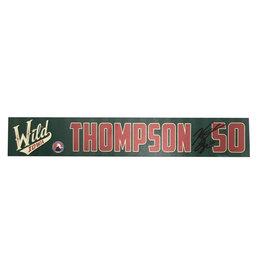 19-20 Thompson Training Camp Nameplate
