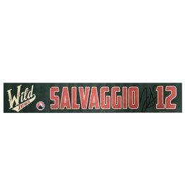 19-20 Salvaggio Training Camp Nameplate