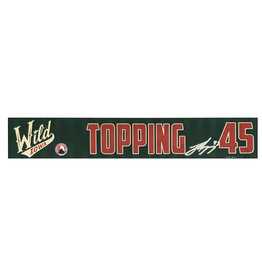 19-20 Topping Training Camp Nameplate