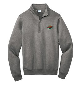 Gray Fleece 1/4 Zip