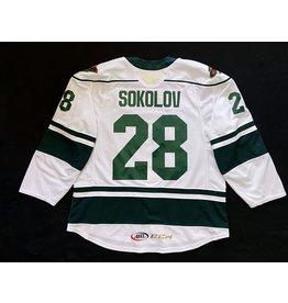19-20 Sokolov #28 Game Worn Jersey (58)