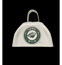 """White 3"""" Cowbell"""