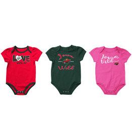 Infant Girls Onesie Pack