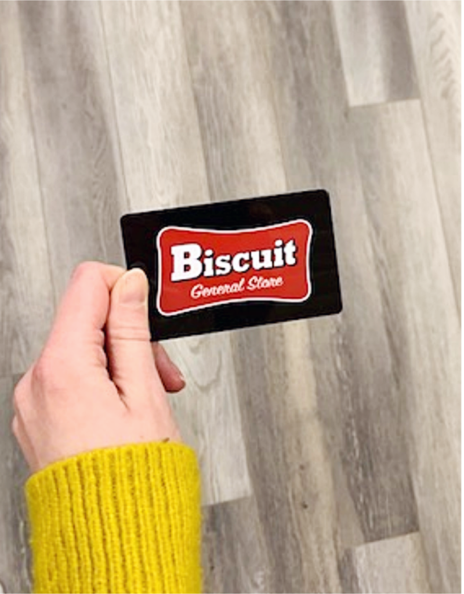 Biscuit Gift Card $300