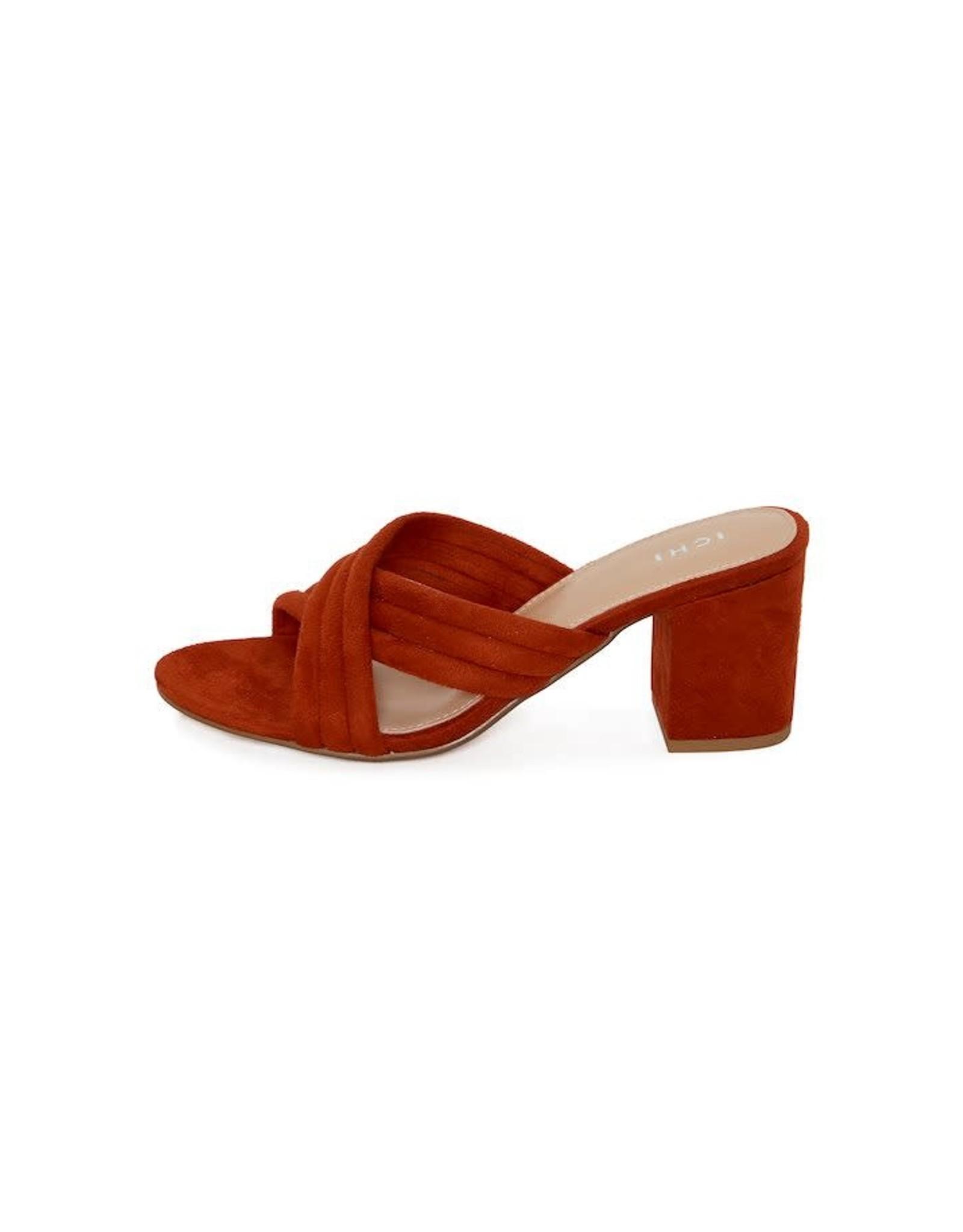 ICHI - Block Heel Slide