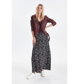 ICHI - 90s Floral Maxi Skirt