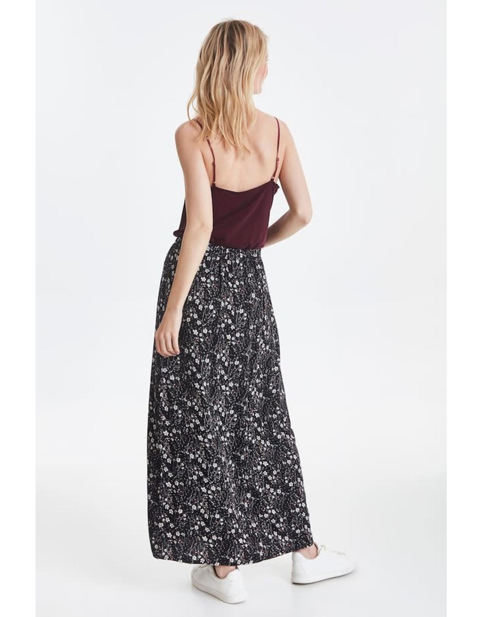 ICHI ICHI - 90s Floral Maxi Skirt