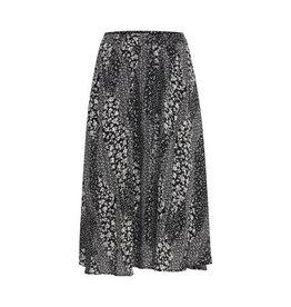 ICHI - Print Chiffon Skirt