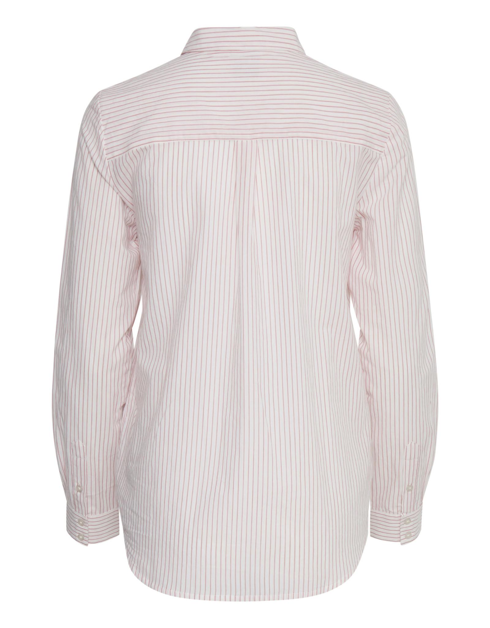 ICHI ICHI - LS Lightweight Stripe Blouse