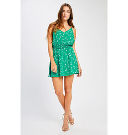 Gentle Fawn - Floral Sleeveless Mini Dress