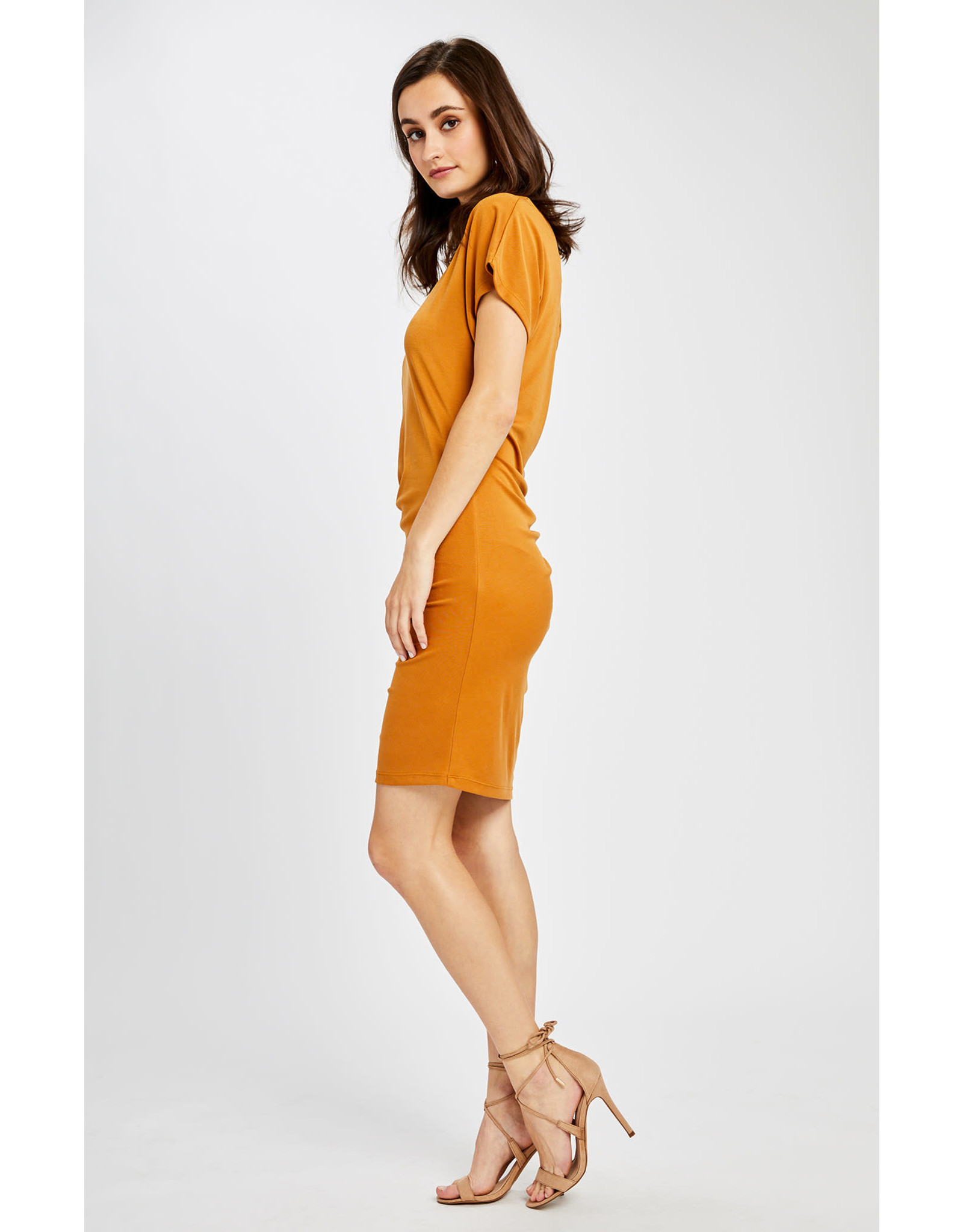 Gentle Fawn - One Shoulder Dress