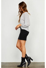 Gentle Fawn - Ribbed Mini Skirt
