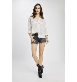 Gentle Fawn - Striped Button Up Shirt