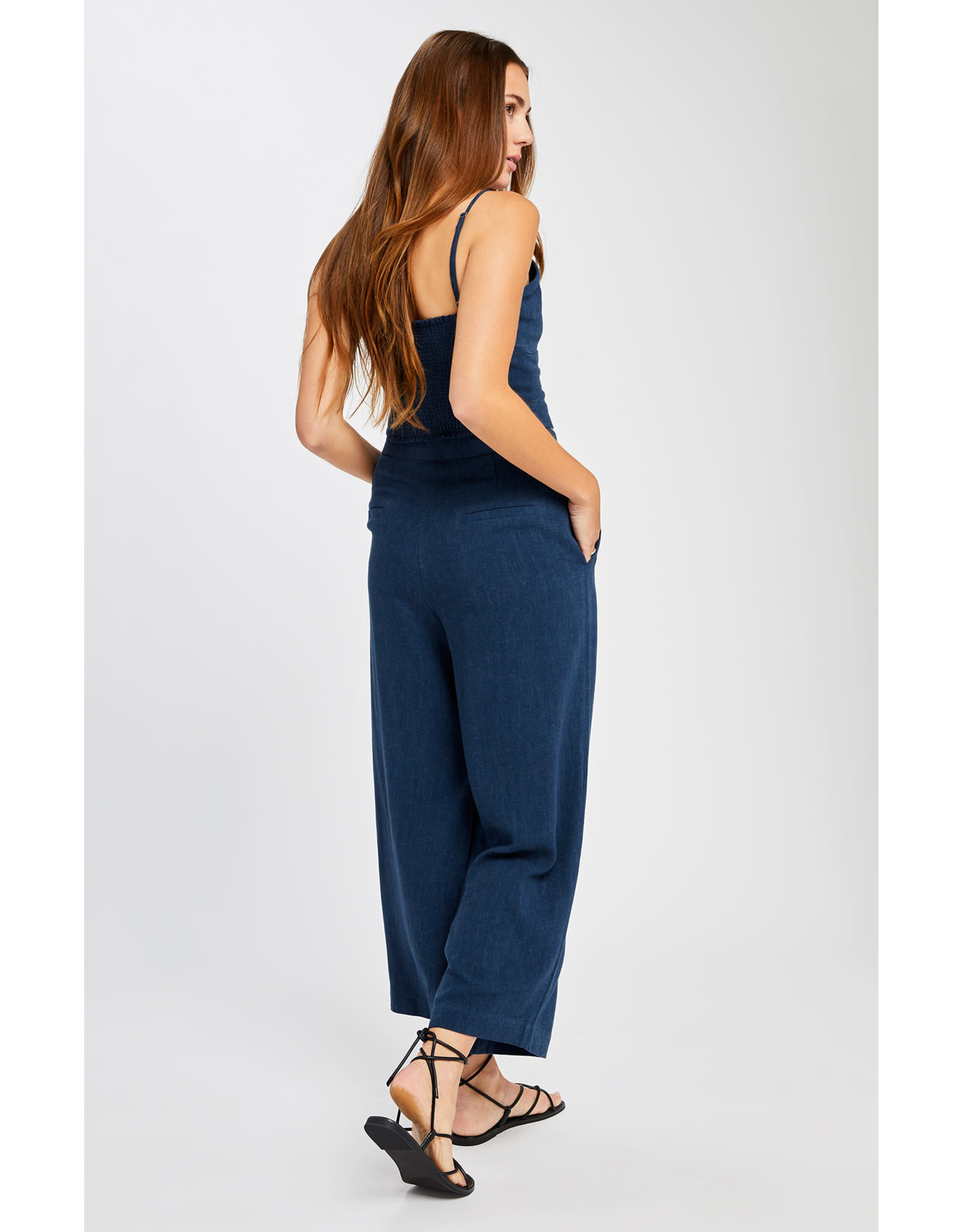 Gentle Fawn Gentle Fawn - Wide Leg Button Front Pant