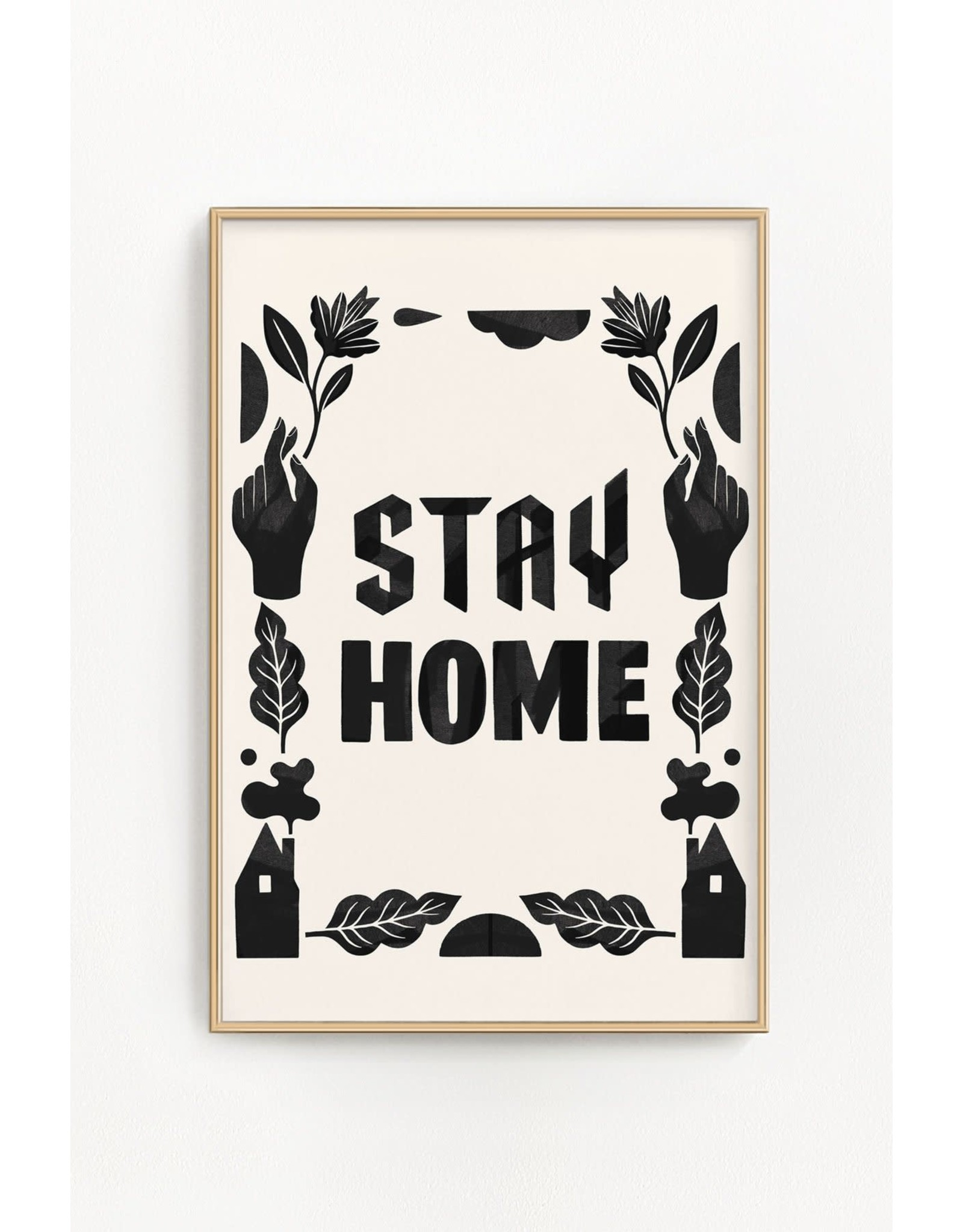 "Stay Home Club - Riso Print/Stay Home 11"" x 17"""