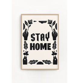 "Stay Home Club Stay Home Club - Riso Print/Stay Home 11"" x 17"""