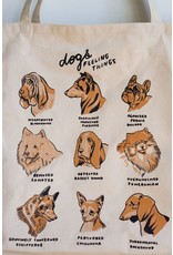 Stay Home Club Stay Home Club - XL Tote Bag/Dogs Feeling Things