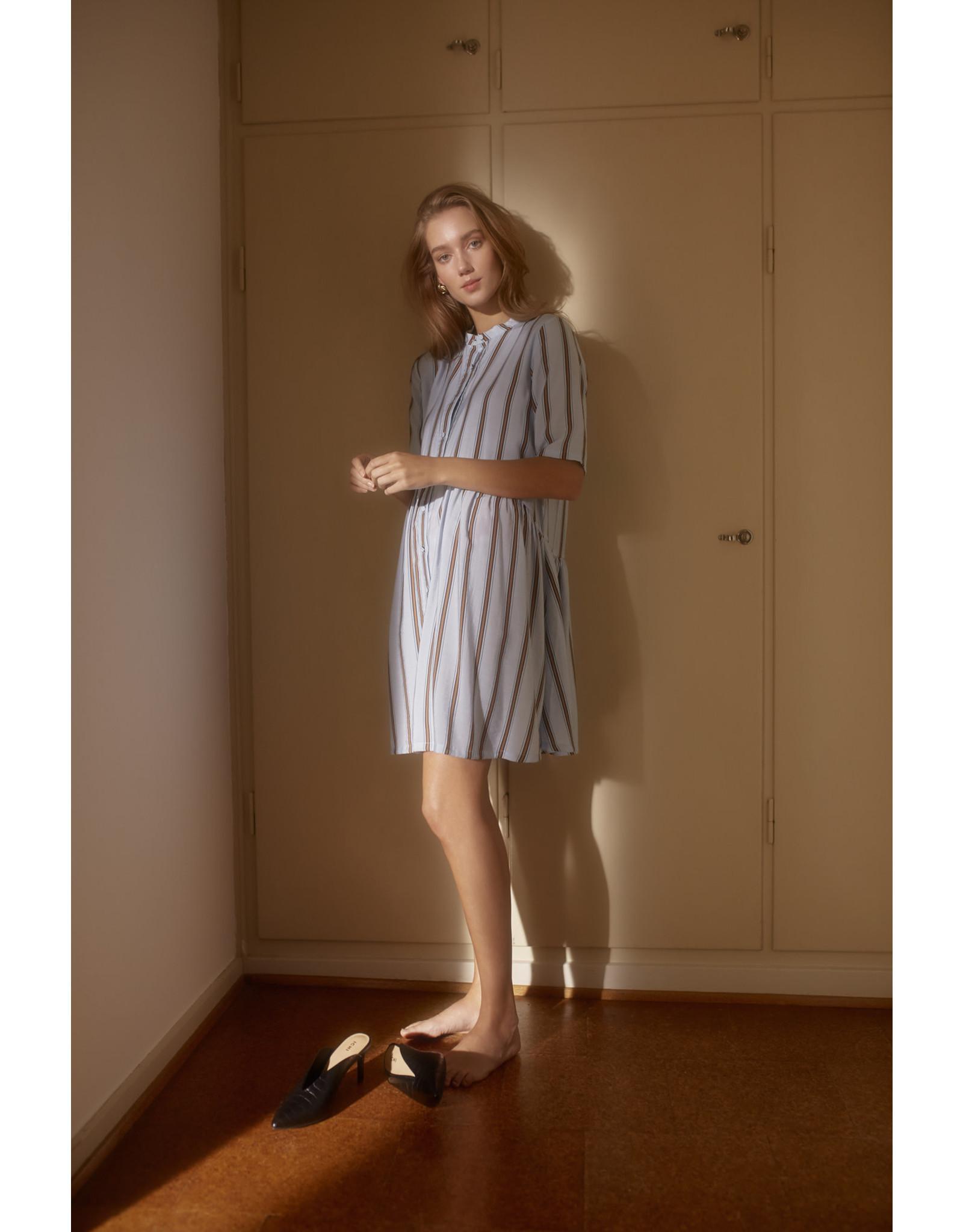 ICHI ICHI - Striped Dress