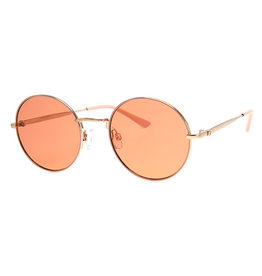 AJM - Round Colored Wire Frame Sunglasses