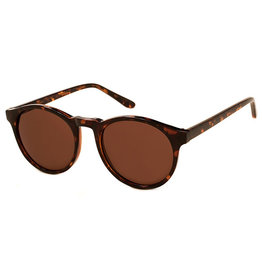 AJM - Round Two-Tone Frame Sunglasses