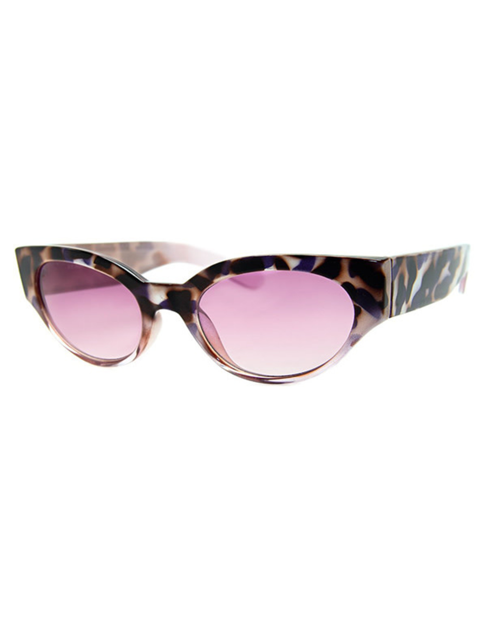 AJ Morgan AJM - Skinny Oval Frame Sunglasses