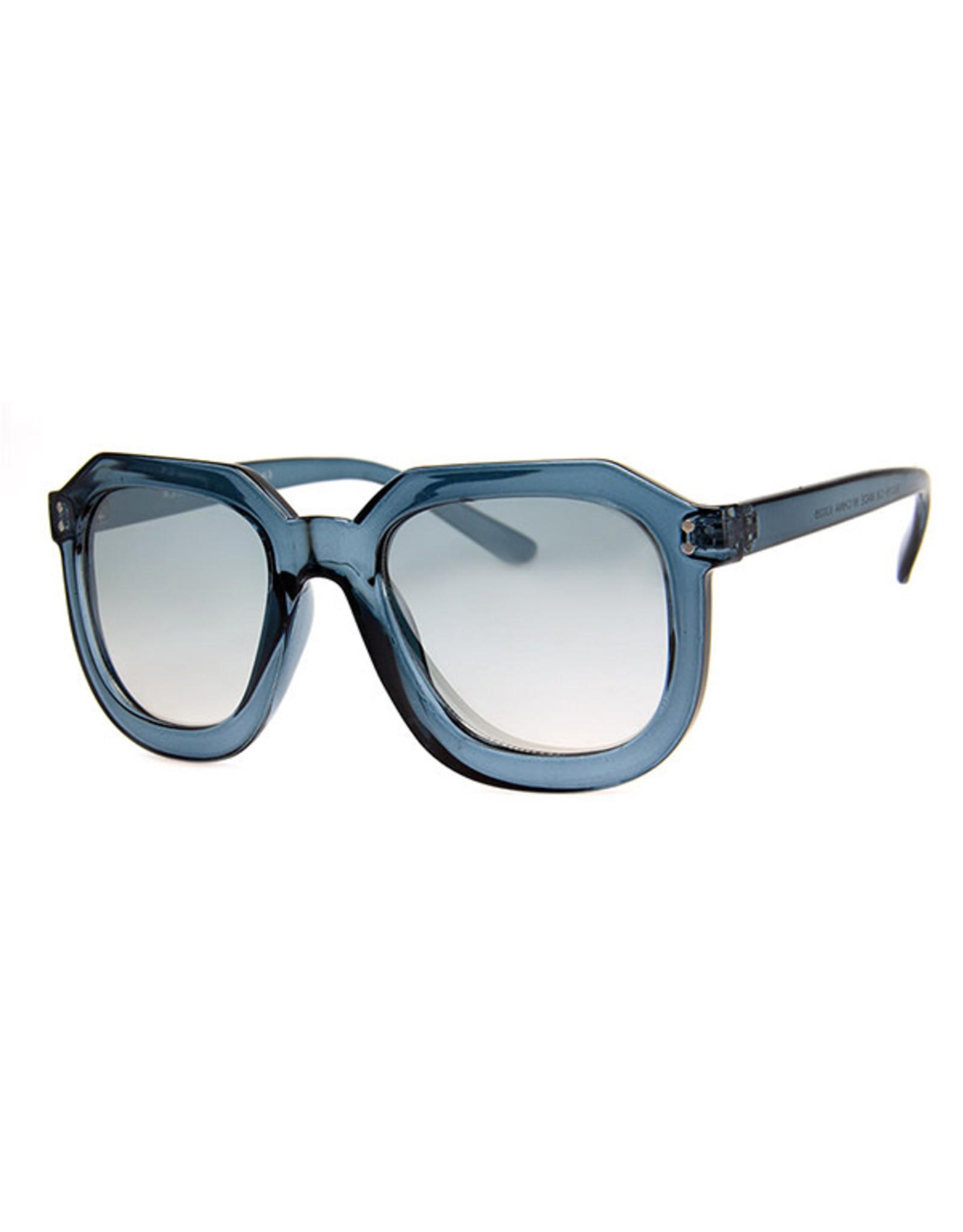 AJM - Square Rounded Frame Sunglasses