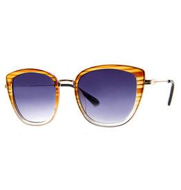 AJ Morgan AJM - Square Ombre Frame Sunglasses