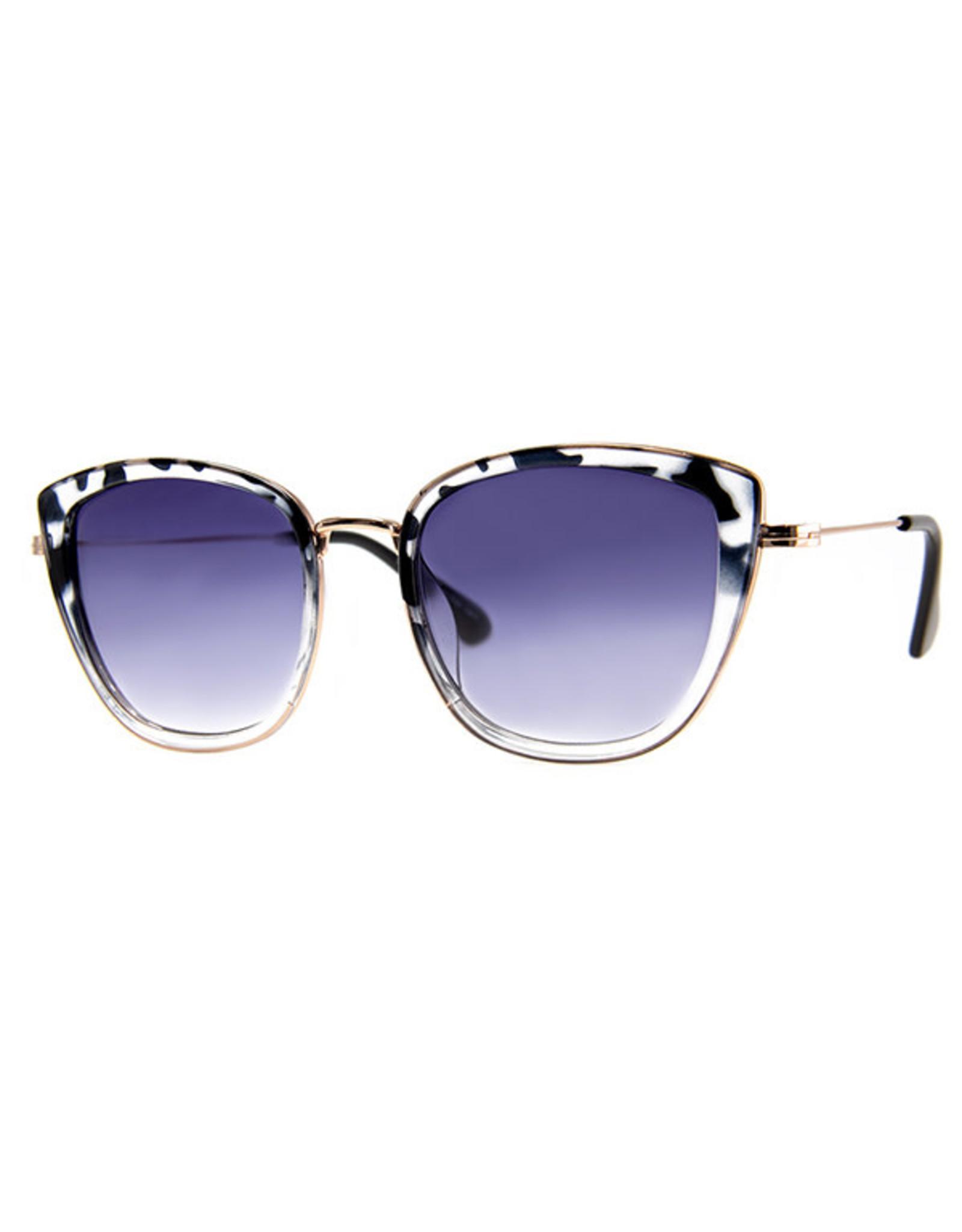 AJM - Square Ombre Frame Sunglasses
